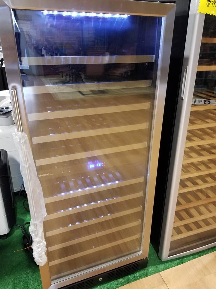 Danby 110 Bottle Dual Zone Built In Wine Cooler Flippin Jays
