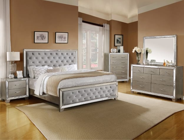 SETB7680 COSETTE BEDROOM GROU